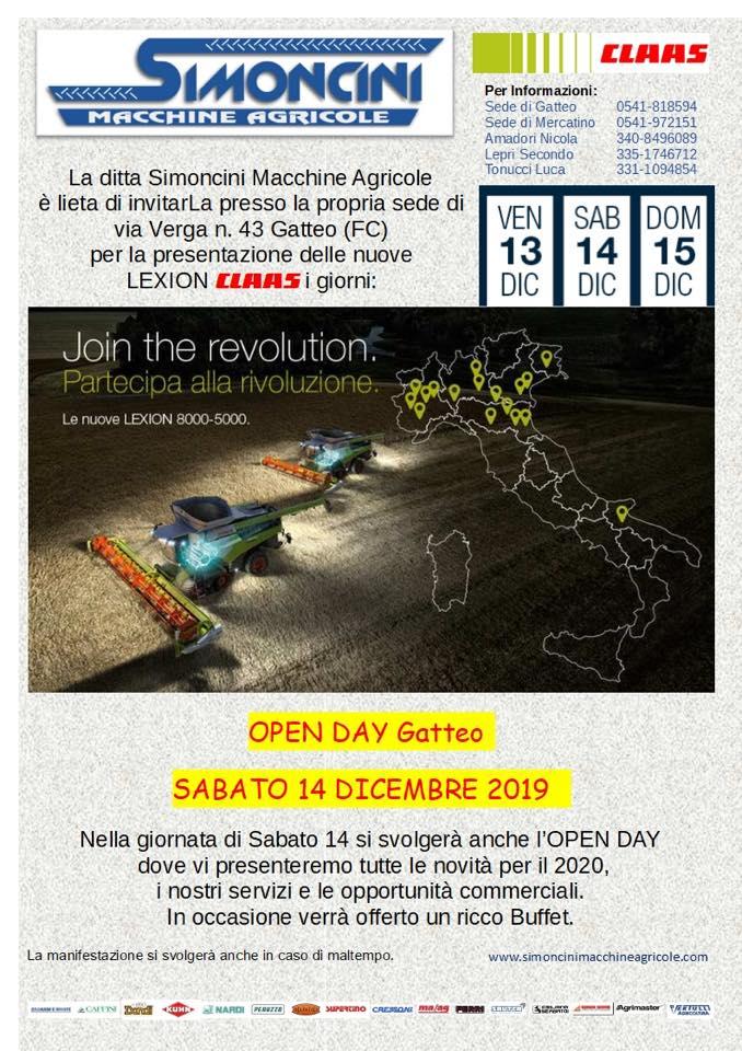 open day Gatteo Simoncini Maccine Agricole